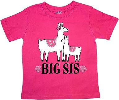 inktastic Big Sis Girls New Sister Announcement Toddler T-Shirt