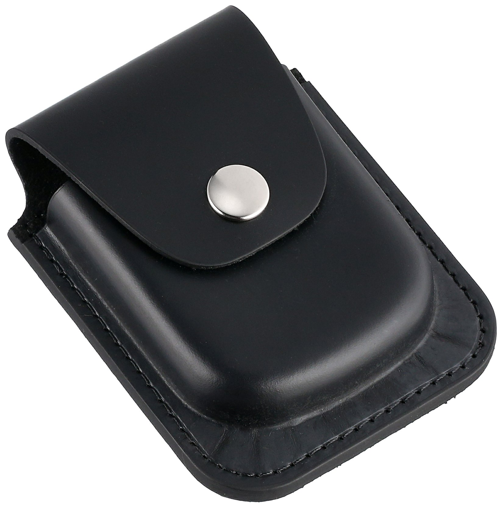 Charles-Hubert, Paris 3572-6 Black Leather 56mm Pocket Watch Holder