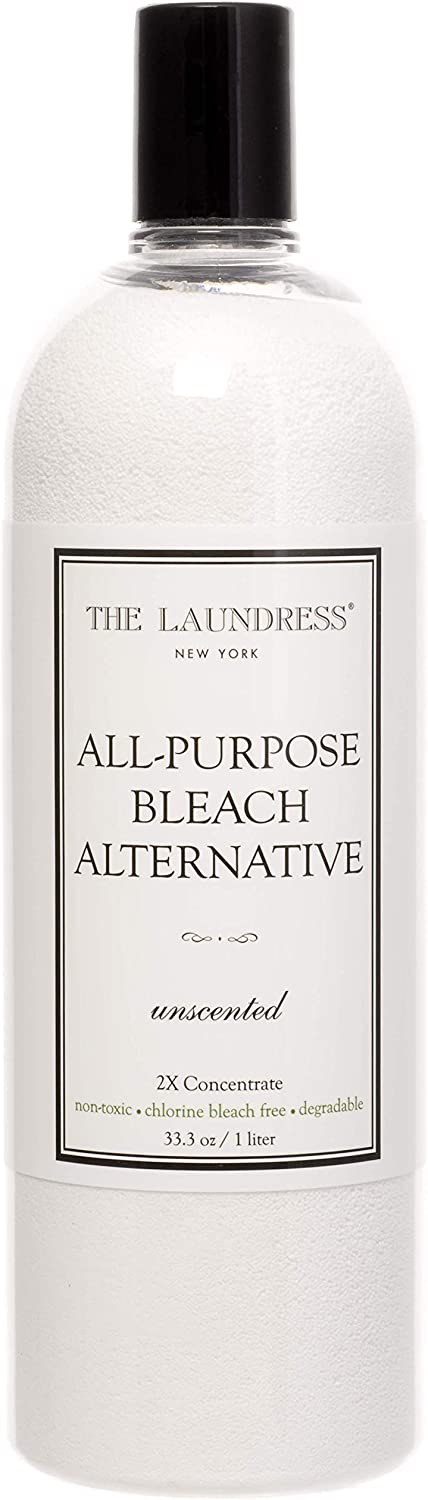 The Laundress - All-Purpose Bleach Alternative, Non-Toxic, Chlorine Free Bleach Alternative, Biodegradable, Fragrance-Free, 33.3 fl oz, 128 washes