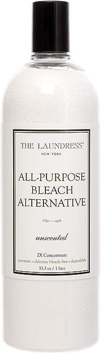 The Laundress - All-Purpose Bleach Alternative, Non-Toxic, Chlorine Free Bleach Alternative, Biodegradable, Fragrance-Free, 33.3 fl oz, 128 washes