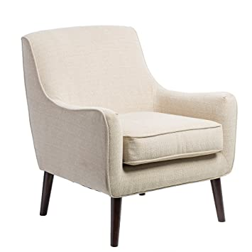 Etonnant Oxford Cream Colored Modern Accent Chair