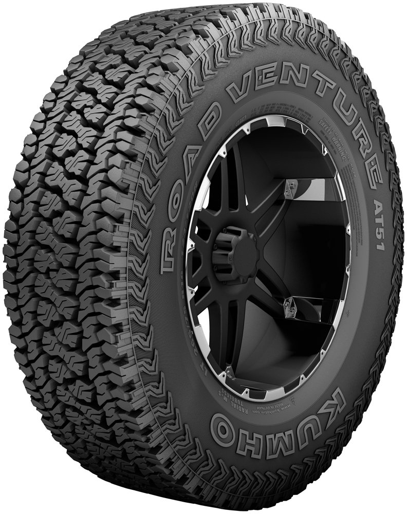 Kumho Road Venture AT51 All-Season Radial Tire - P265/75R16SL 114T