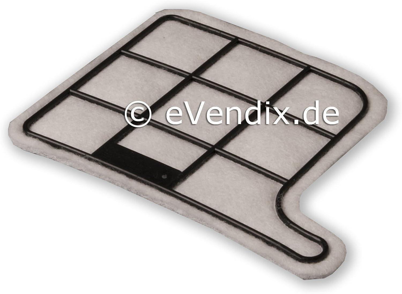 eVendix Juego de filtros Adecuado para Vorwerk Kobold VK 135/136 ...