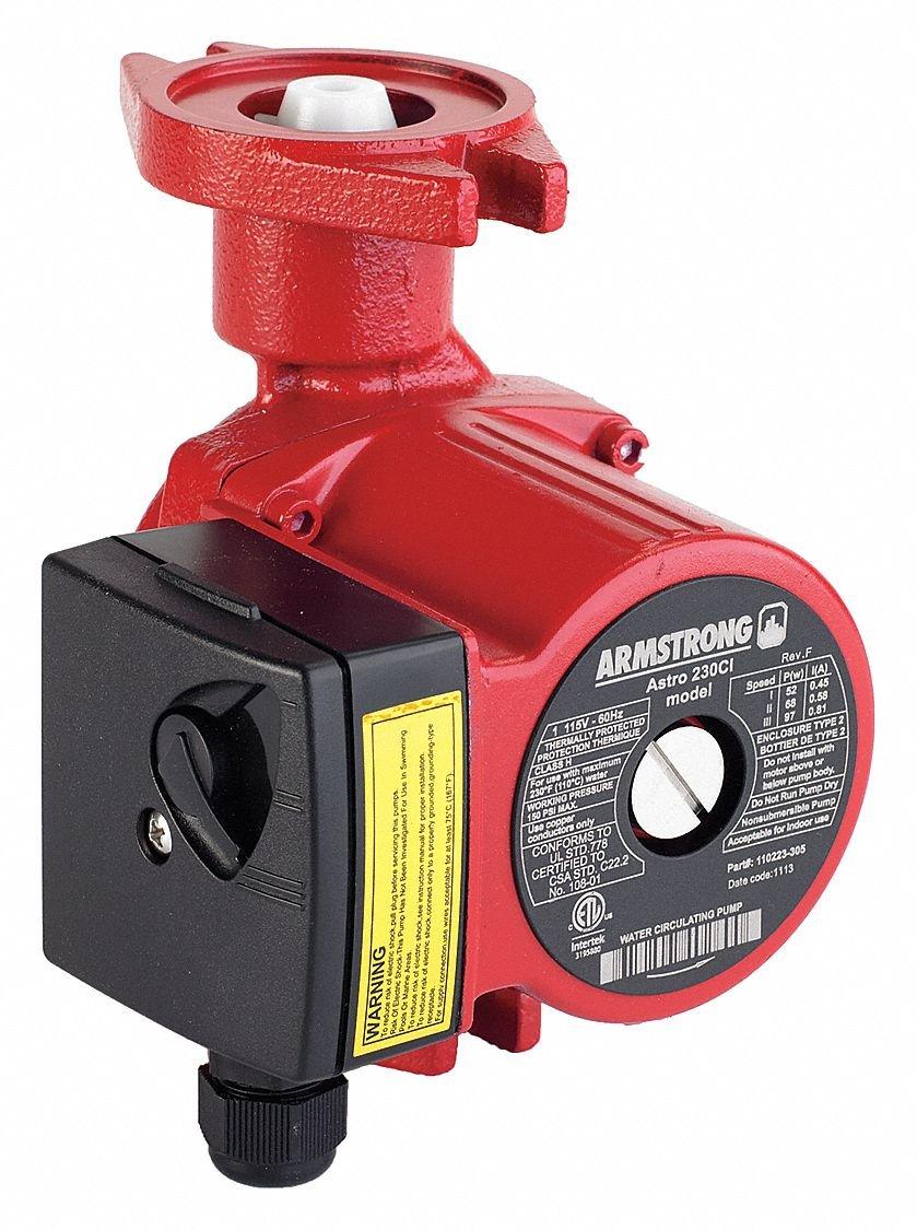 ARMSTRONG PUMPS 110223-305 Armstrong Astro 230Ci 1/25 Hp Circulator Pump Armstrong Pumps Inc