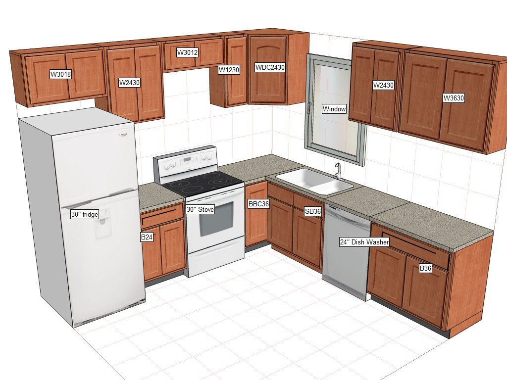 10x10 kitchen cabinets - Amazon Com Solid Wood Rta Kitchen Cabinets For 10x10 Kitchen Kitchen Dining
