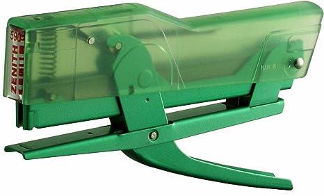 Zenith Alicate grapadora 590 para grapas 130E Metal verde