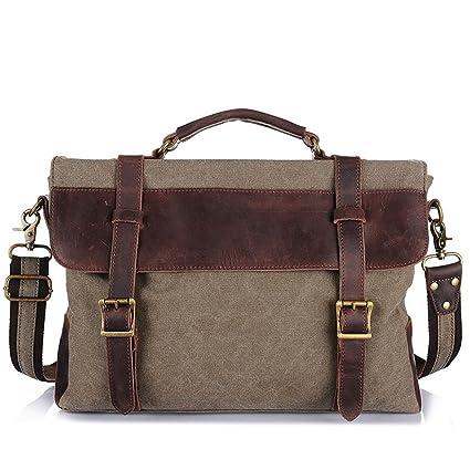 84d4cc4c8704 Laptop Messenger Bag Mens Messenger Bag Waterproof Computer Laptop Bag 13  Inch Briefcase Case Vintage Retro