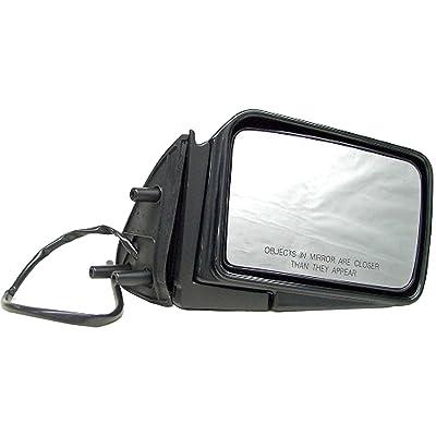 Dorman 955-1519 Passenger Side Power Door Mirror - Folding for Select Nissan Models, Black: Automotive