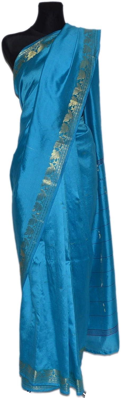 Sari Salwar Kameez Bollywood Saree Indien Goldbrokat Orient Ethno Boho Batik Karneval T/ürkis nr 24