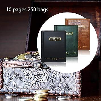 Persiverney Moneda Álbum, Monedas colección Libro ...