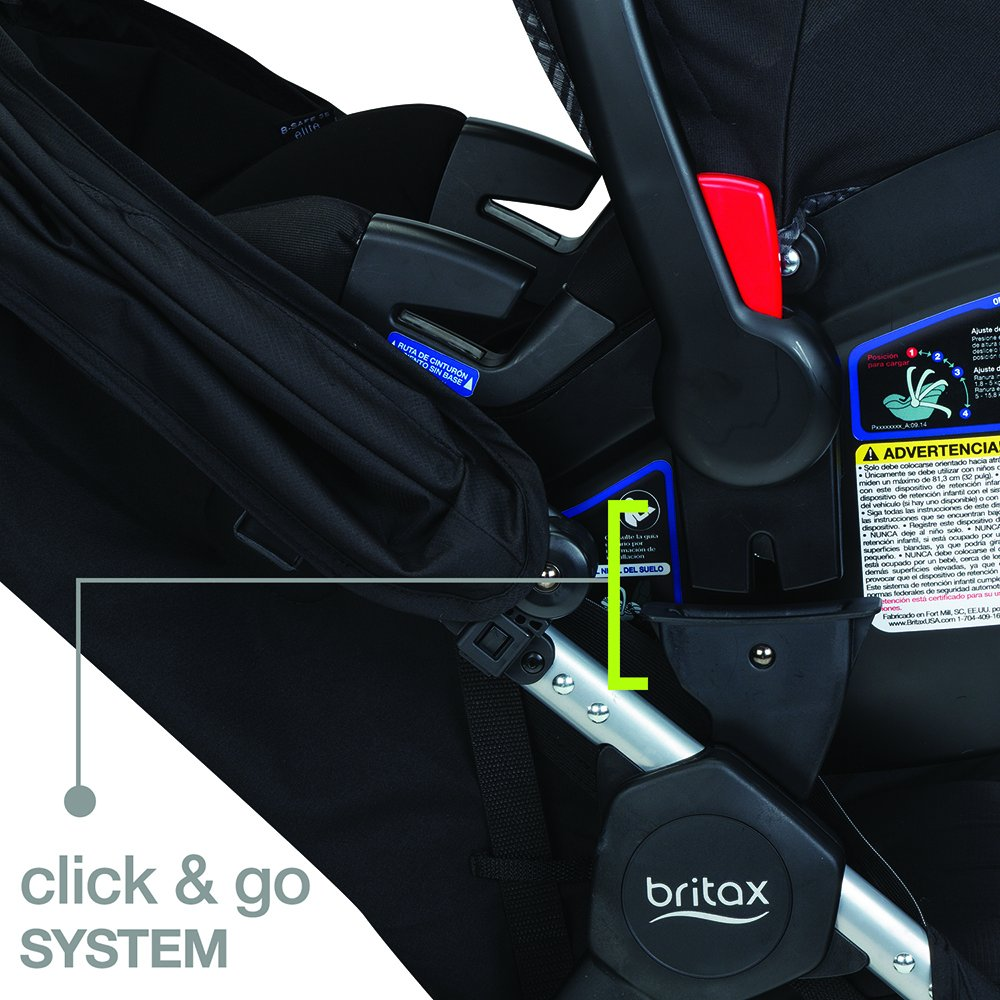 Black Britax B-Safe 35 Infant Car Seat