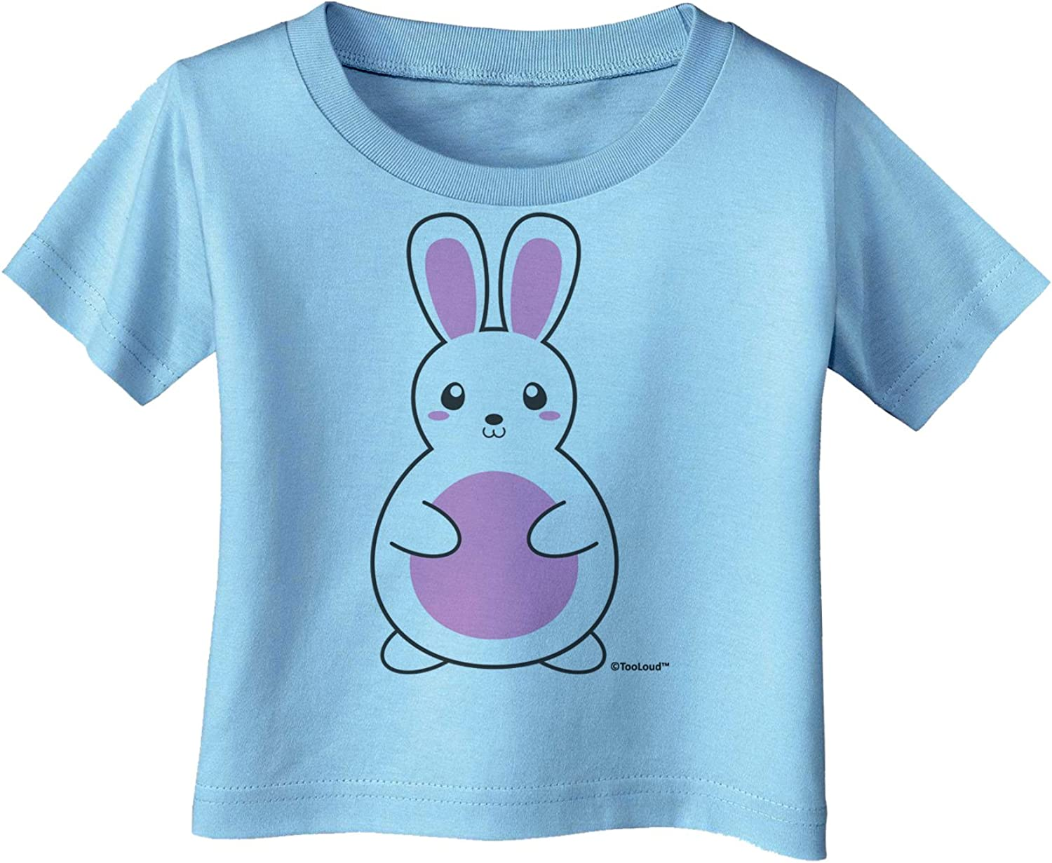 TooLoud Cute Easter Bunny Pink Toddler T-Shirt