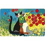 Fridolin 12212 Rosina Wachtmeister Piena Primavera Planche à Découper Mélamine Multicolore 23,5 x 0,2 x 14,5 cm