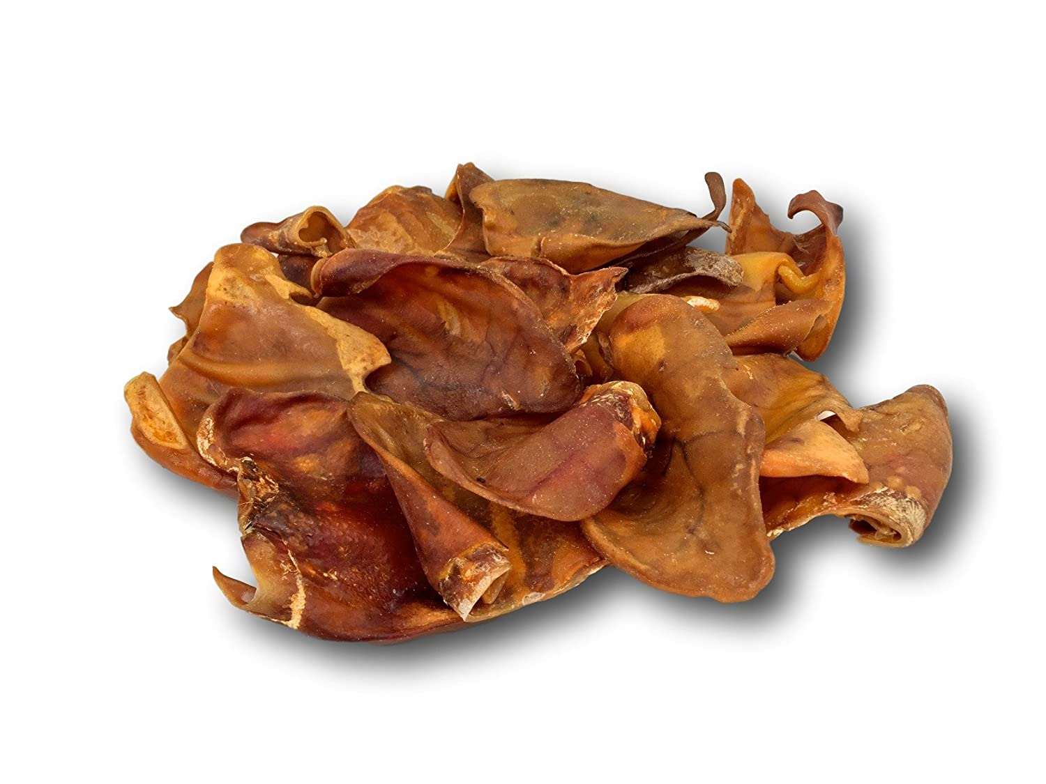 Pig Ears for Dogs 100 Pack - Made in the USA