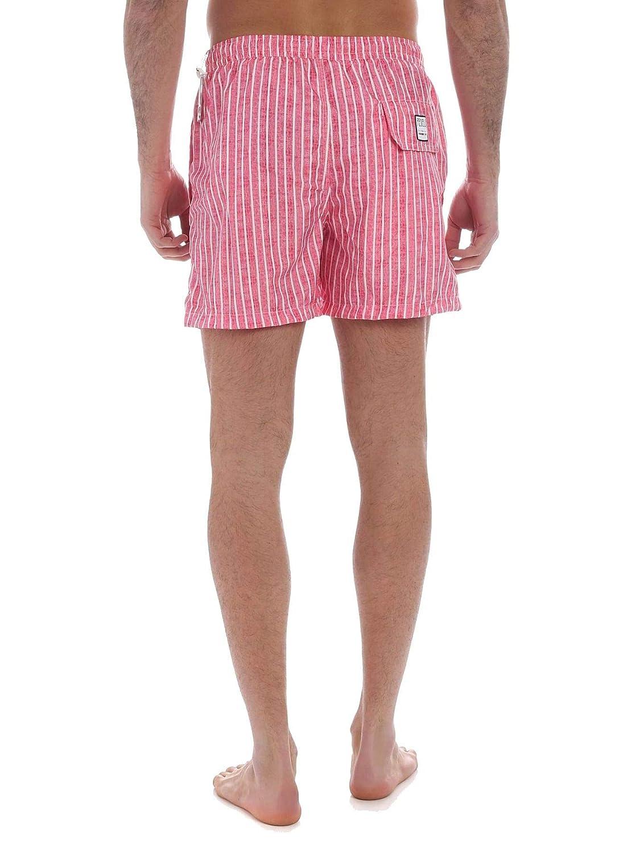 Fedeli Mens 22UE00321E42 Pink Polyester Trunks