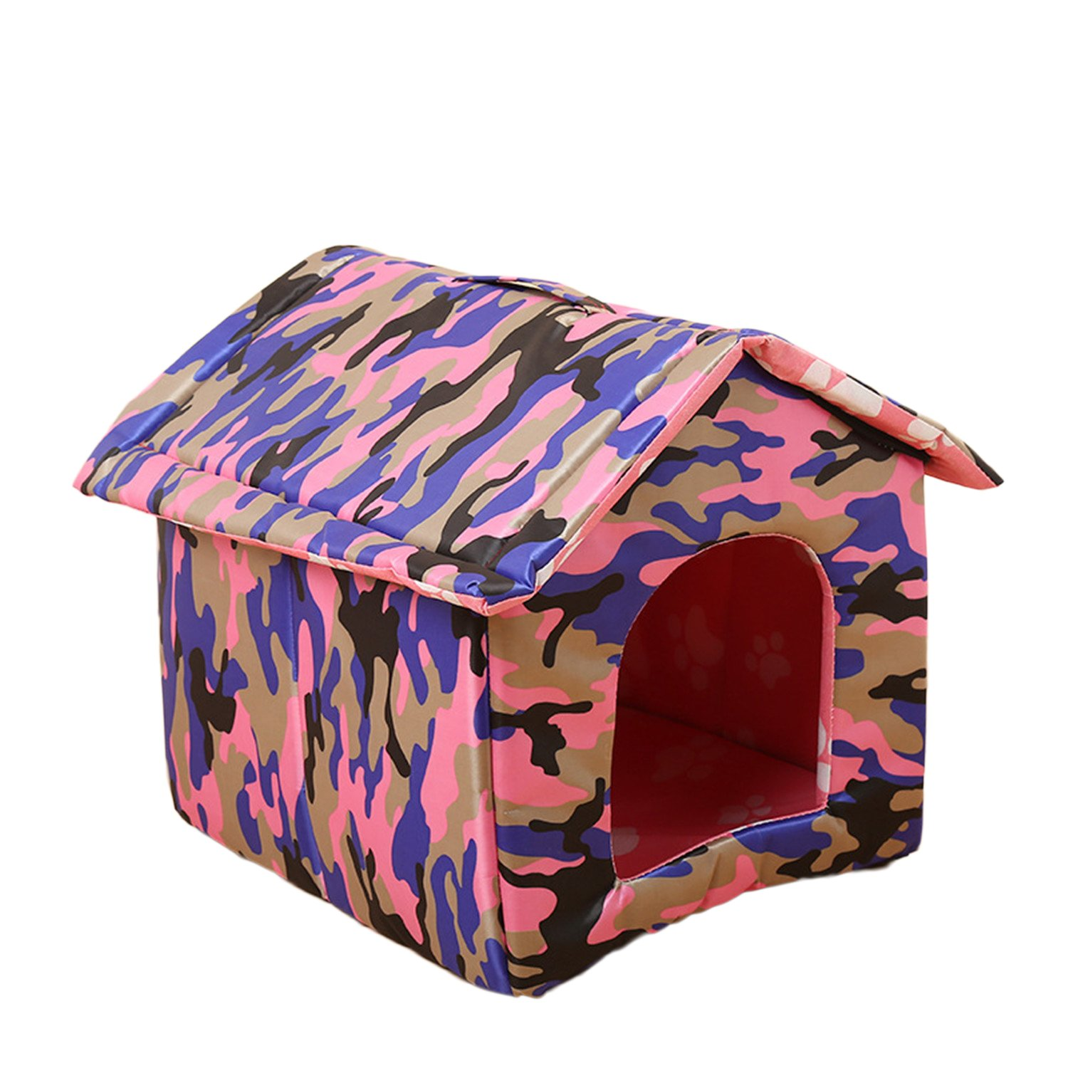 Legendog Pet House Dog Cat house Fashion Foldable Detachable Washable Pet Nest Pet Cave for Dogs Puppy Cats Kittens