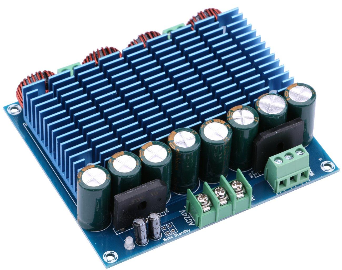 Yeeco 420wx2 Digital Power Amplifier Board Class D High Audio Tda 21 Circuit Sereo Amp Module For Indoor Outdoor System Diy Speakers