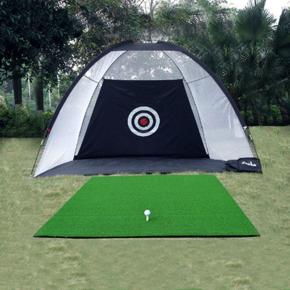 kofull Golf Practice Net Hitting Game with Driving Mat Practice DrivingインドアとアウトドアトレーニングAid   B078M9XBSS