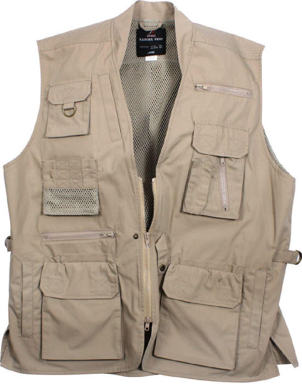 定番  マルチポケット付きCargo Tactical服用Concealed 3X-Large Carry Travelベスト カーキ Travelベスト B07DS781VH 3X-Large|カーキ カーキ 3X-Large, ミンマヤムラ:b5bf92d6 --- arianechie.dominiotemporario.com
