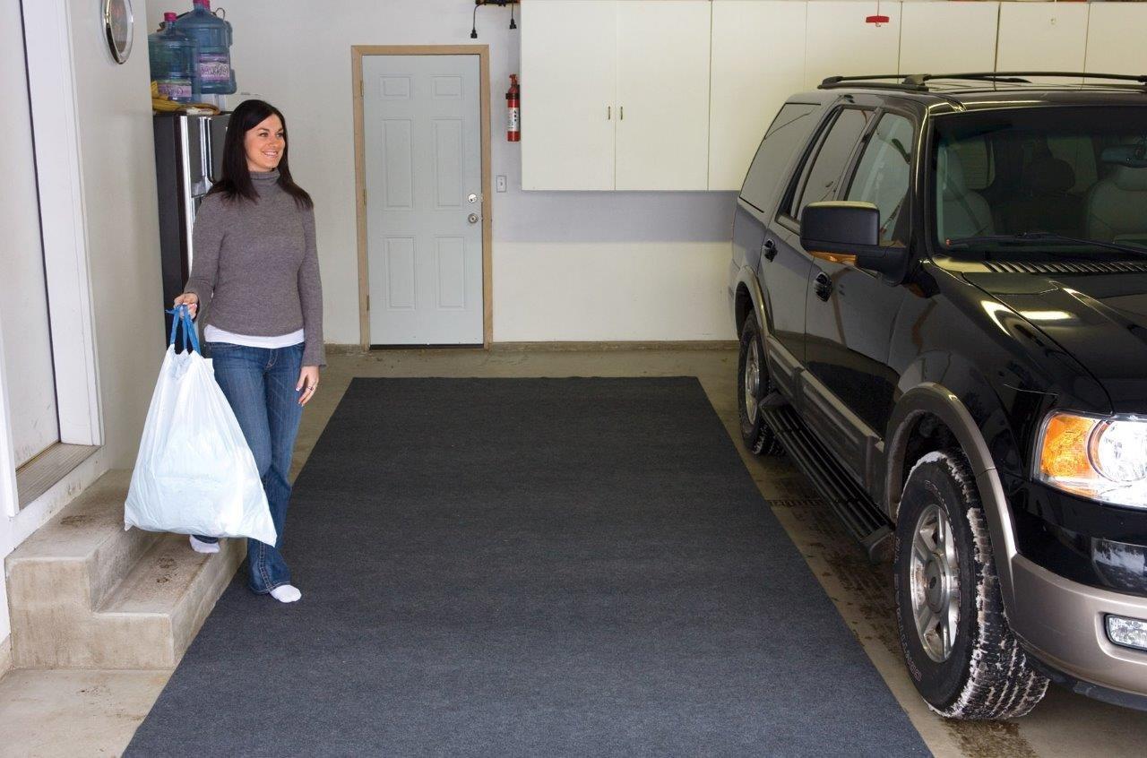 Garage Floor Mat For Snow Er Carpet Vidalondon