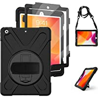 iPad 8th Generation Case Cover iPad 10.2 Case iPad 7th Generation Cases 2019/2020 with Screen Protector, Herize Heavy…
