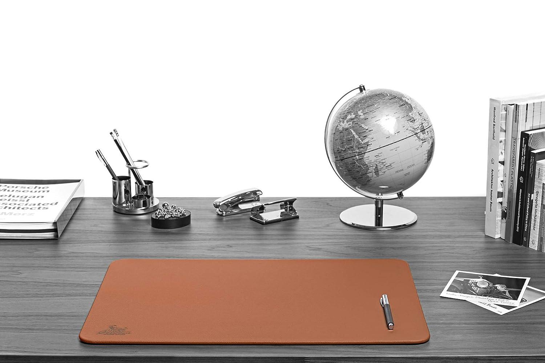 vintage altri colori e dimensioni Sottomano da scrivania Centaur 50x70 cm fatto a mano in Germania pelle angoli arrotondati antiscivolo cognac
