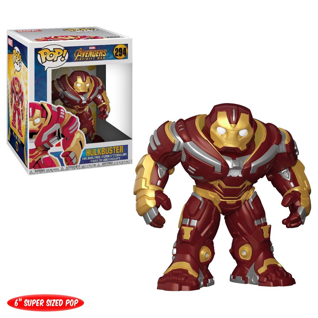 Funko Pop! Marvel: Avengers Infinity War 6'' Hulk Buster Figure, Multicolor