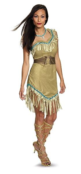 Amazon.com: Disfraz de Pocahontas, traje de lujo para ...