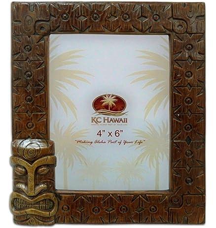 Amazon Hawaiian Picture Photo Frame 4 By 6 Inch Tiki Bowana
