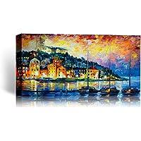 Cehar Pittura, Cornici per la casa su Tela, Quadri Originali, Pittura murale acrilica Arte Moderna, One Piece con Cornice