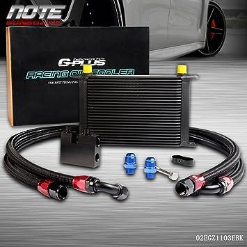 25 fila Temperatura de aceite kit para BMW N54 Motor Twin Turbo 135 E82 335 E90 E92 E93: Amazon.es: Coche y moto