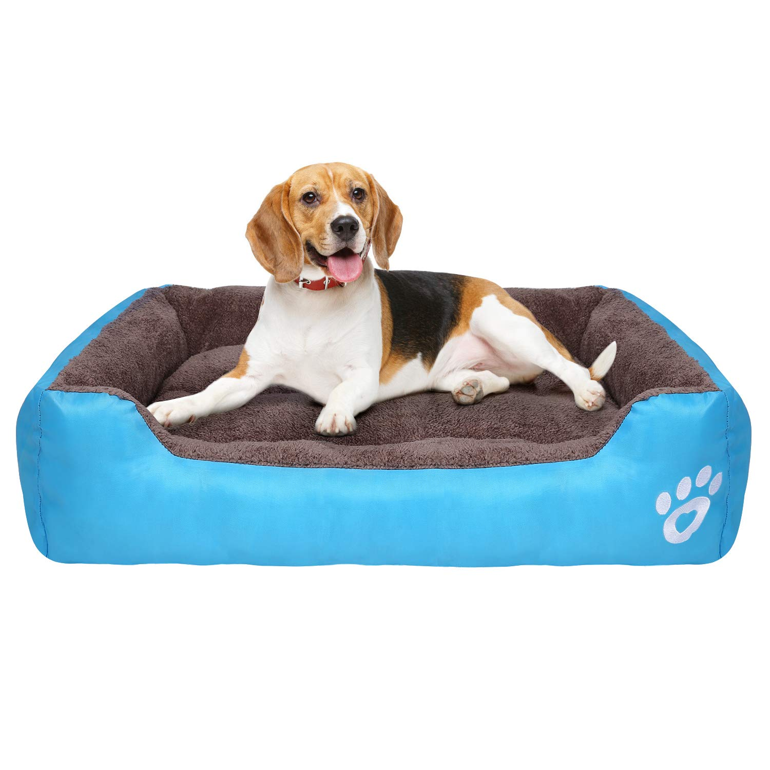 PUPPBUDD Pet Dog Bed for Medium Dogs(XXL-Large for Large Dogs),Dog Bed with Machine Washable Comfortable and Safety for…