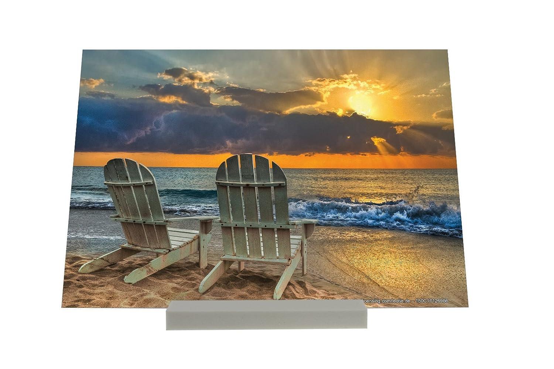 Soporte Fotografias Feng Shui Puesta de sol en el mar ...