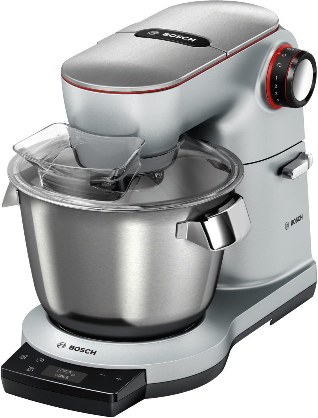 Bosch MUM9AX5S00 robot de cocina 5,5 L Acero inoxidable 1500 W - Robots de cocina (5,5 L, Acero inoxidable, Botones, Giratorio, Acero inoxidable, Aluminio, 1500 W): Amazon.es: Hogar