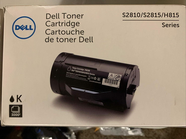 Dell 2104295 F9G3N Black Toner Cartridge Standard (KNRMF)