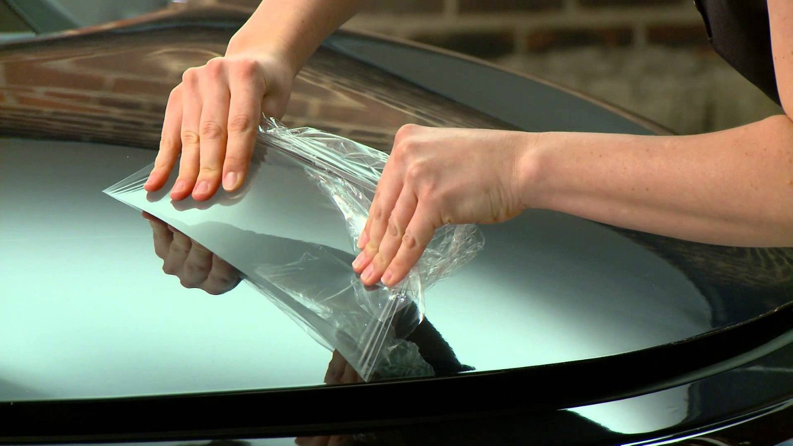 VViViD paint protection film 5ft x 54'' clear gloss self healing wrap guard