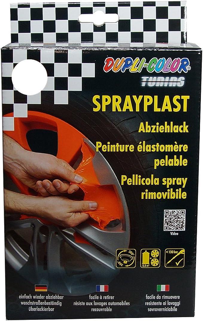 Dupli Color 388163 Set Sprayplast Abziehlack Transparent Glänzend Anzahl 2 Auto