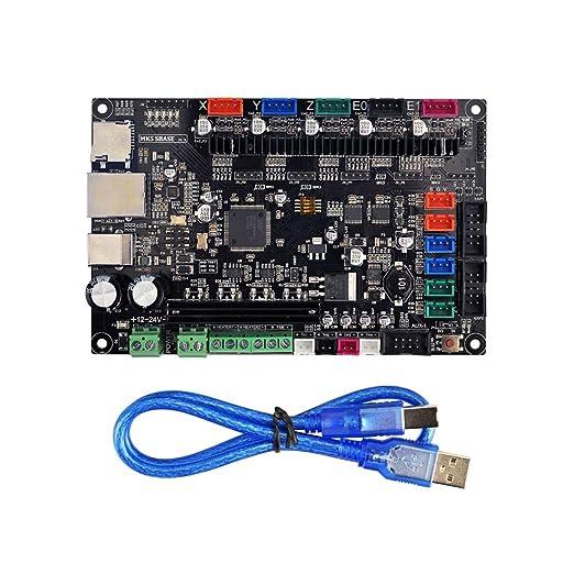 SM SunniMix Tarjeta De Control De La Impresora 3D MKS SBASE V1.3 ...