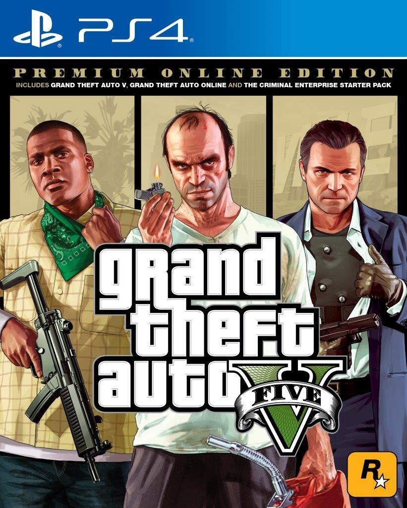Grand Theft V - Premium Edition (PS4)