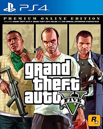 Buy Grand Theft V - Premium Edition (PS4) Online at Low Prices in