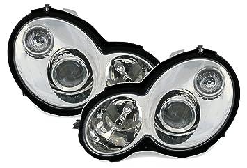 Klarglas Chrom Facelift-Optik AD Tuning GmbH /& Co KG Scheinwerfer Set
