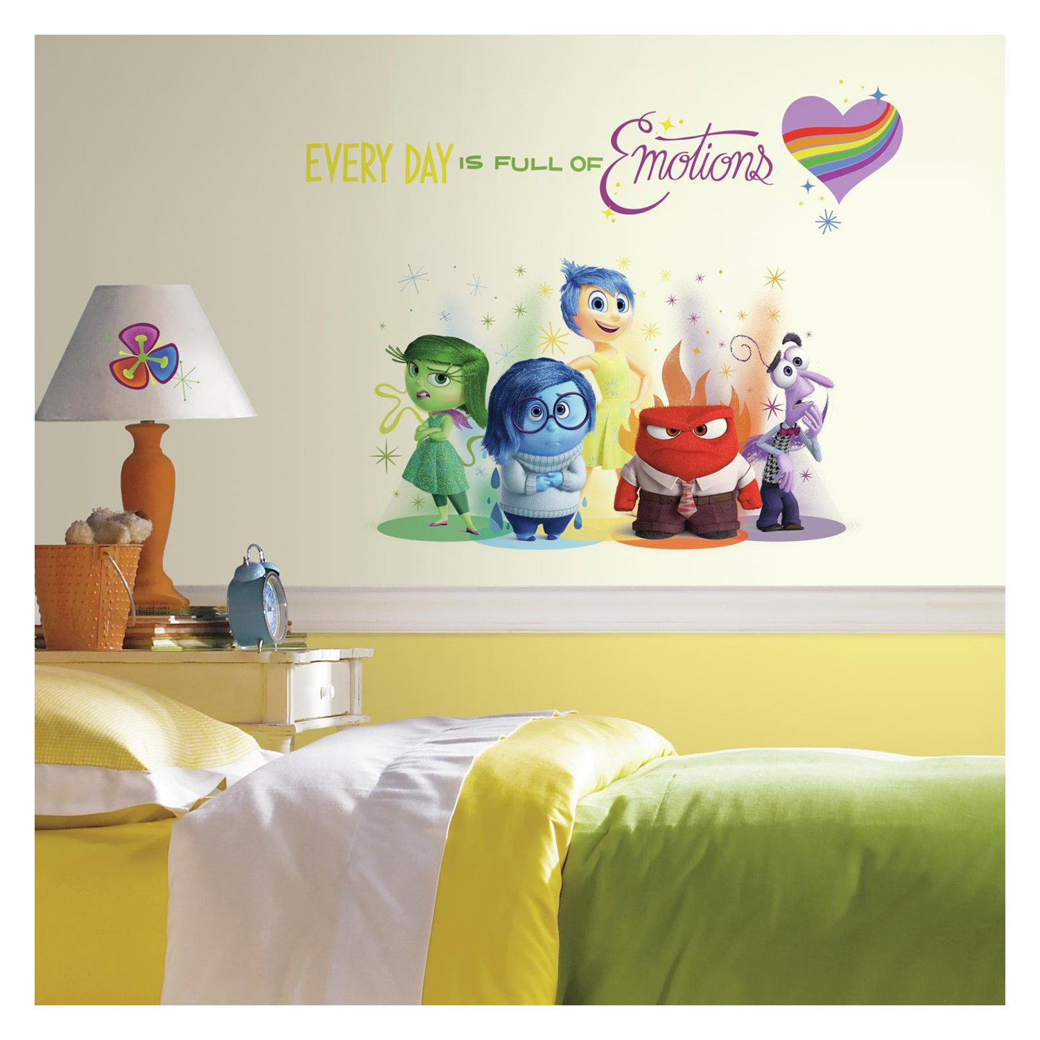 RoomMates RMK2999TB Inside Out Burst Peel And Stick Giant Wall Decals, 6  Count     Amazon.com Part 53