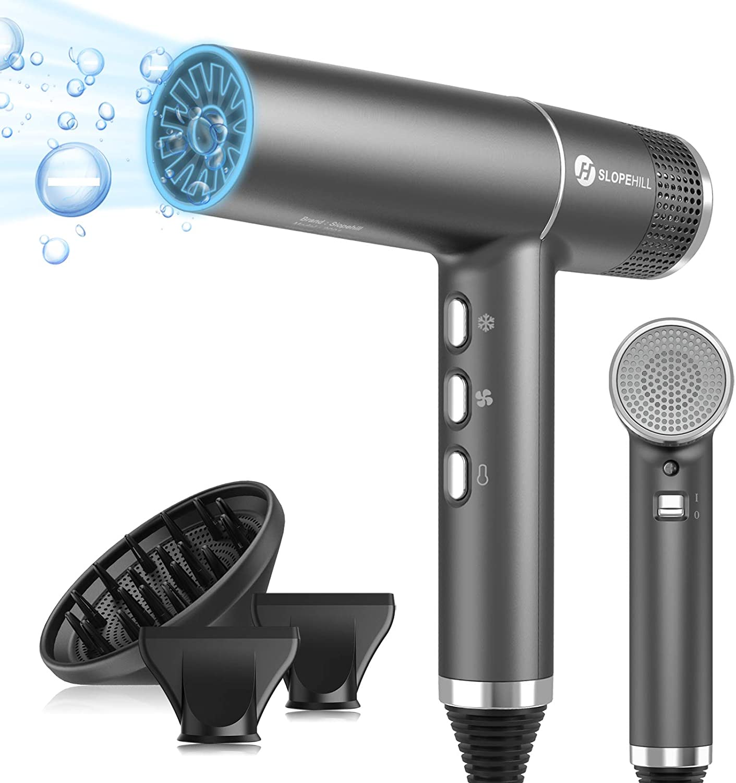 slopehill 2000W Ionic Hair Dryer w/ Brushless Motor $99.99 Coupon