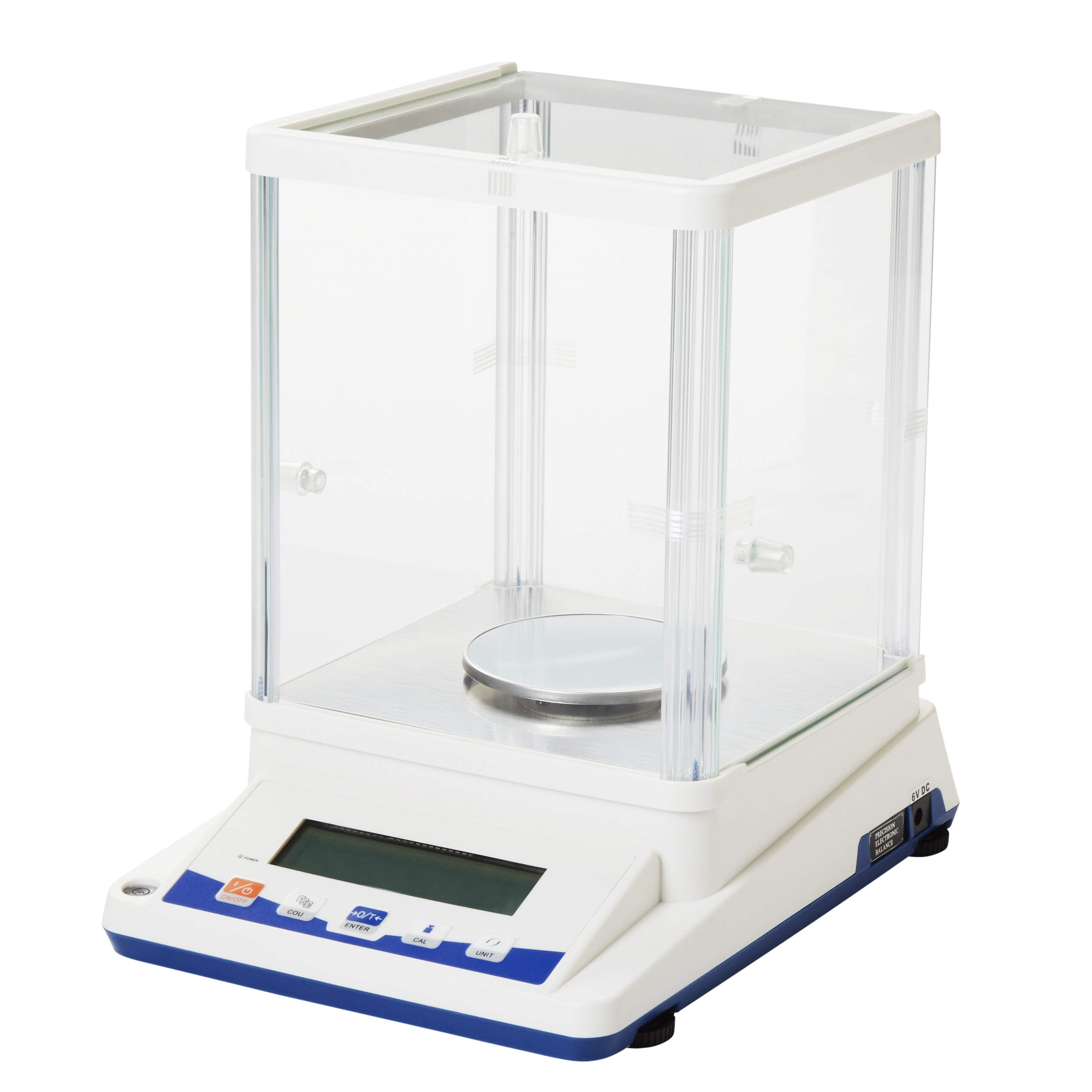 1mg Digital Analytical Balance Electronic Scale Precision Lab Balance with Glass Chamber, 100X0.001g by Microyn