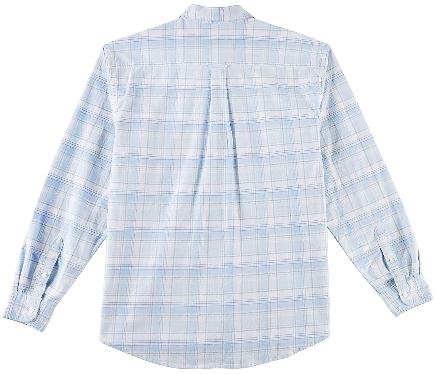Tackle /& Tides Mens Stretch Oxford Glen Long Sleeve Shirt