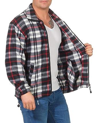 Camisa térmica para Hombre Chaqueta de leñador a Cuadros Chaqueta de Trabajo Chaqueta de Franela Chaqueta a Cuadros cálida y Suave: Amazon.es: Ropa y ...
