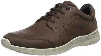 9643d8be853 ECCO Men's Irondale Tie Fashion Sneaker, Coffee, 46 EU/12-12.5 M