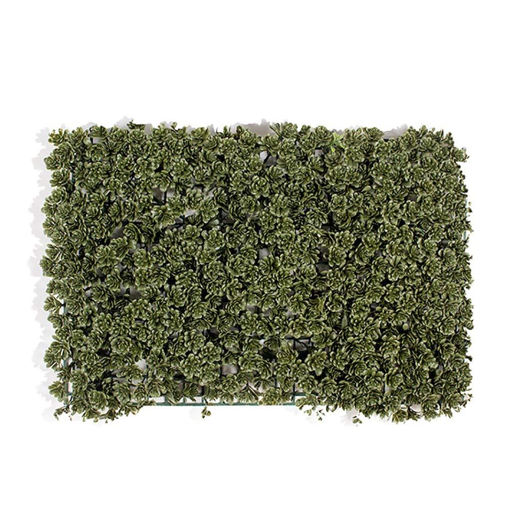GAIGAI 16 * 24 ''人工芝壁、プラスチックプライバシーフェンススクリーンマツ円錐形葉ヘッジパネルマット屋内屋外トピアリー装飾偽植物壁、誕生日の背景、装飾、20個 B07SLVKHW3