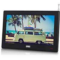 "August DA100D 10.1"" Portable TV with Freeview HD - Small Screen LCD Television"