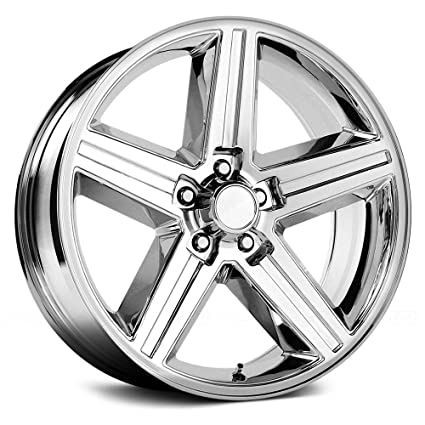 Amazoncom 24 Inch Velocity 248t Iroc Chrome Wheels Rims Only